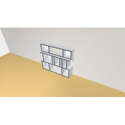 Bookshelf (H102cm - W116 cm)