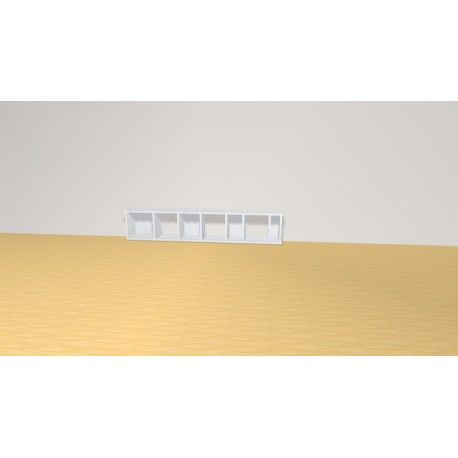 Bookshelf (H29cm - W149 cm)