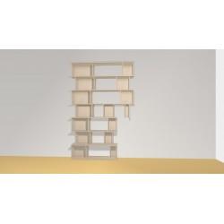 Bibliothèque (H252cm - L163 cm)
