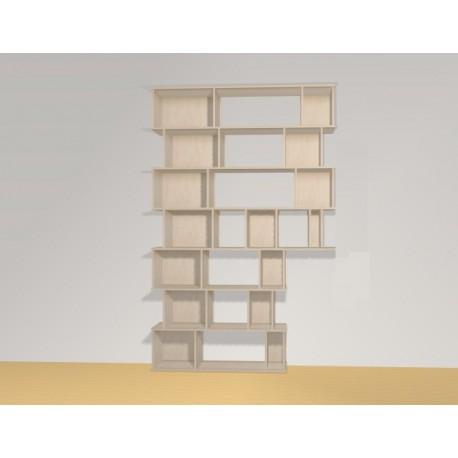 Bibliothèque (252.4x120-162,5cm)