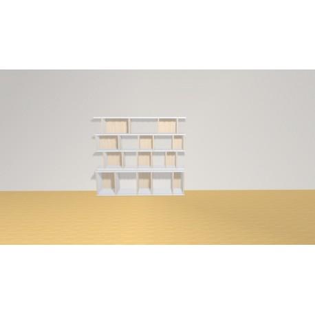 Bibliothèque (H114cm - L130 cm)