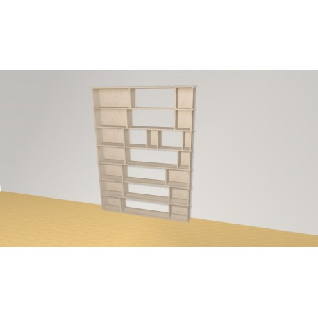 Bookshelf (H189cm - W141 cm)