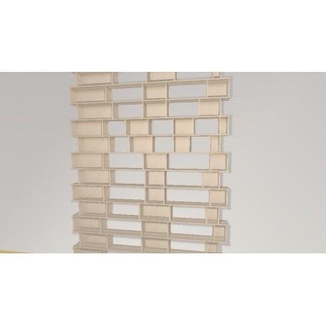 Bookshelf (H311cm - W226 cm)