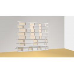 Bibliothèque (H221cm - L243 cm)