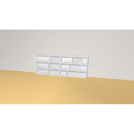 Bookshelf (H73cm - W182 cm)