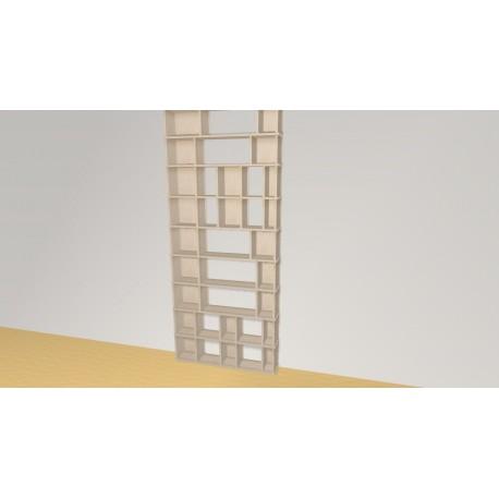 Bibliothèque (H237cm - L101 cm)