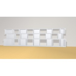 Bookshelf (H90cm - W319 cm)