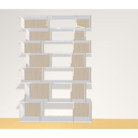 Bibliothèque (H200cm - L136 cm)