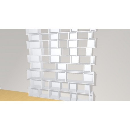 Bookshelf (H266cm - W250 cm)