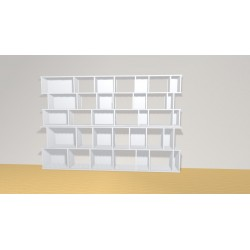 Bookshelf (H156cm - W230 cm)