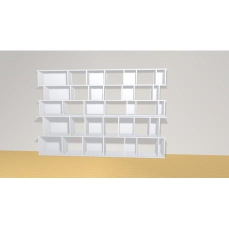 Bibliothèque (H156cm - L230 cm)