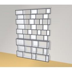 Bookshelf (H266cm - W210 cm)