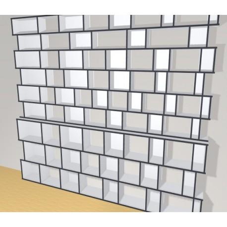 Bookshelf (H266cm - W324 cm)
