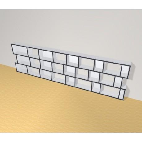Bookshelf (H82cm - W324 cm)