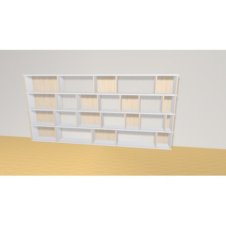 Bookshelf (H109cm - W228 cm)