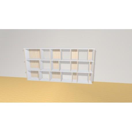 Bibliothèque (H109cm - L221 cm)