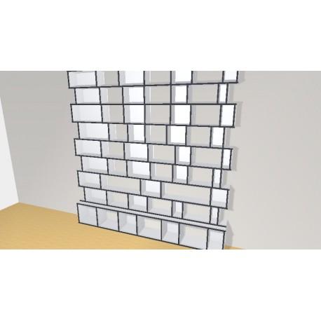 Bookshelf (H248cm - W243 cm)