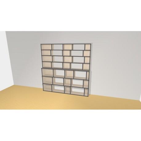 Bibliothèque (H212cm - L210 cm)