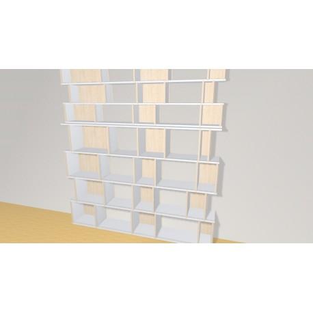 Bibliothèque (H218cm - L198 cm)