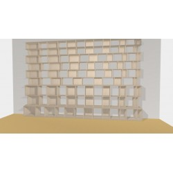Bookshelf (H268cm - W450 cm)